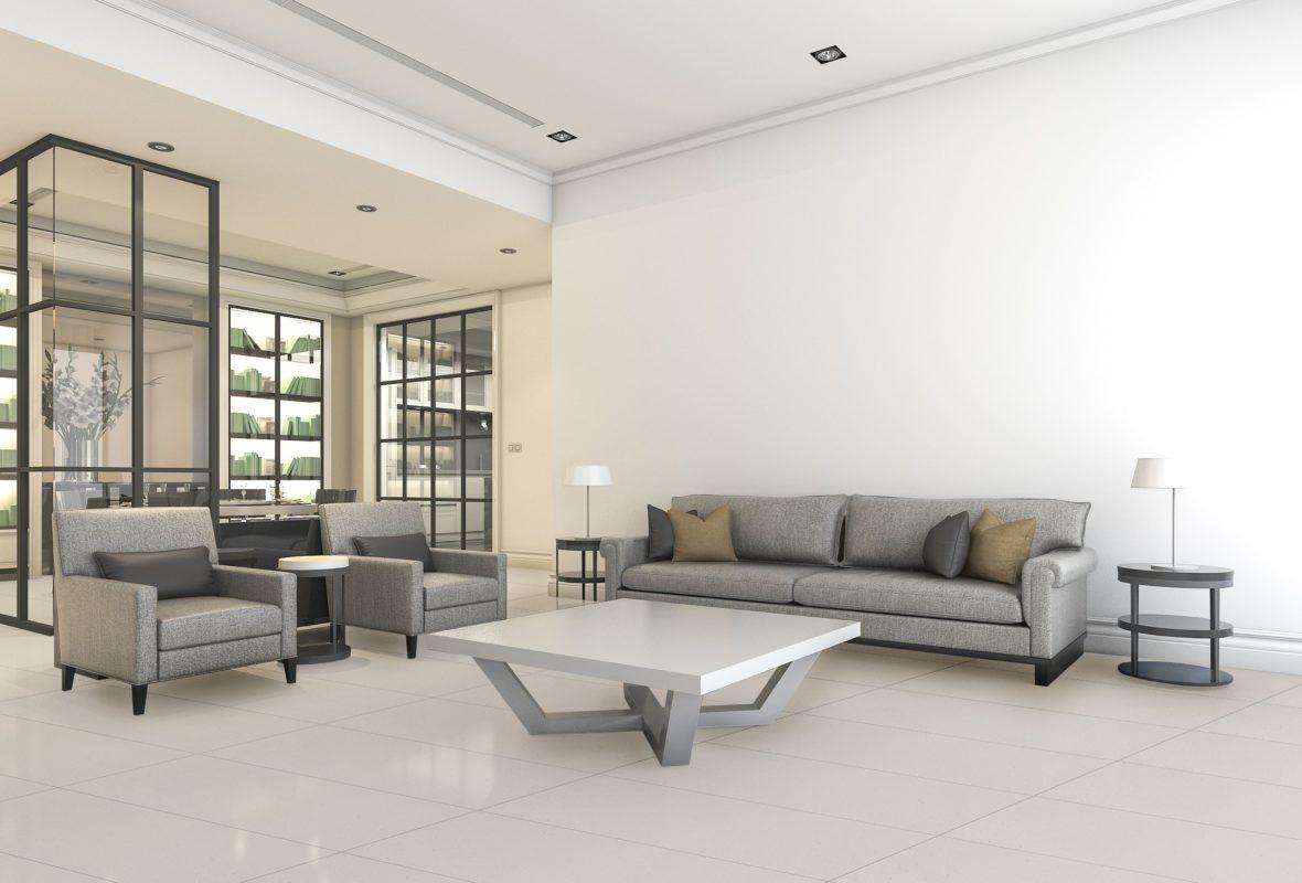 Slabs - Mist - Living Room